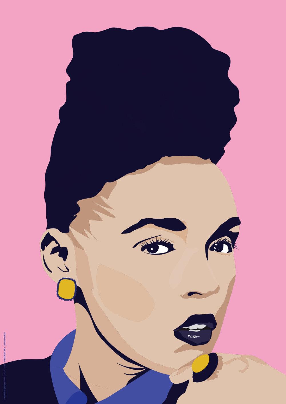 SINGGGER #6 | Janelle Monáe