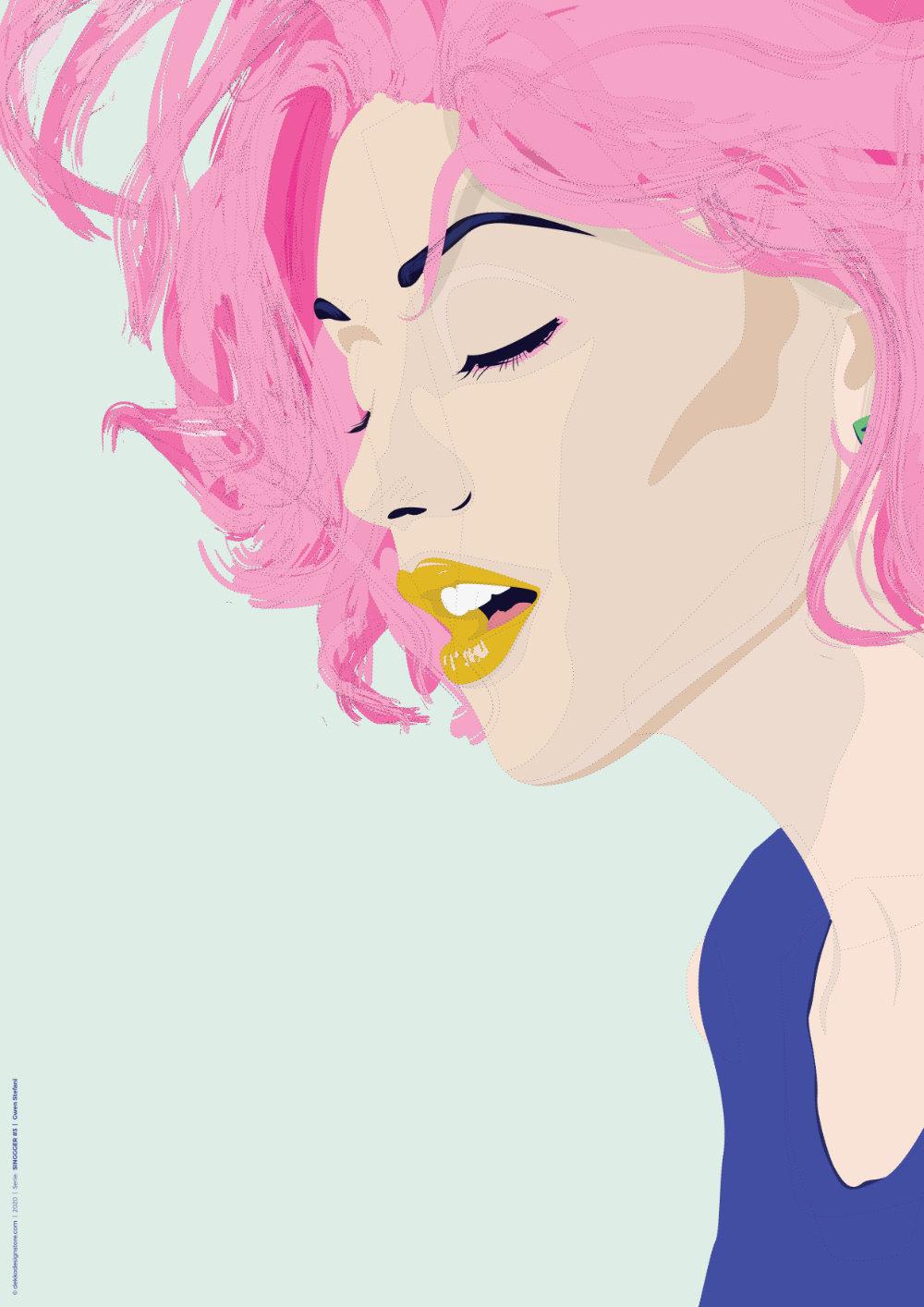 SINGGGER #3 | Gwen Stefani